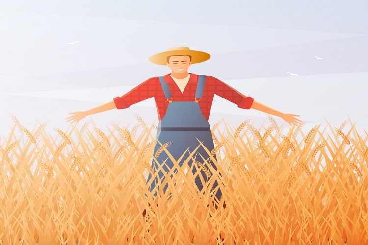 The Farmer And The Crane